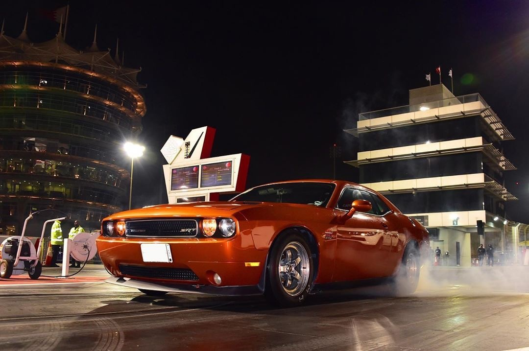 orange  2011 Dodge Challenger srt