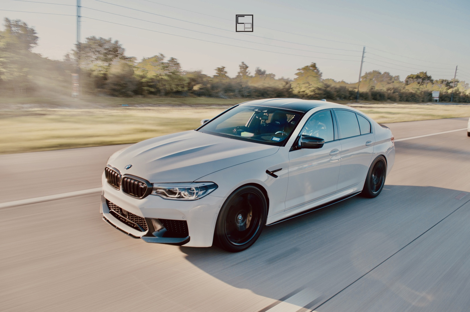 White  2019 BMW M5 Sedan 4 door