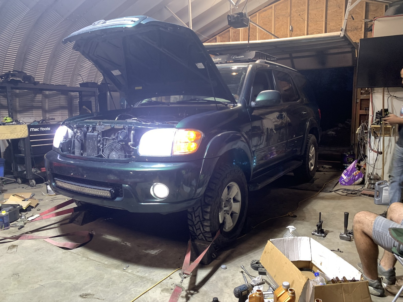 Green 2003 Toyota Sequoia Limited