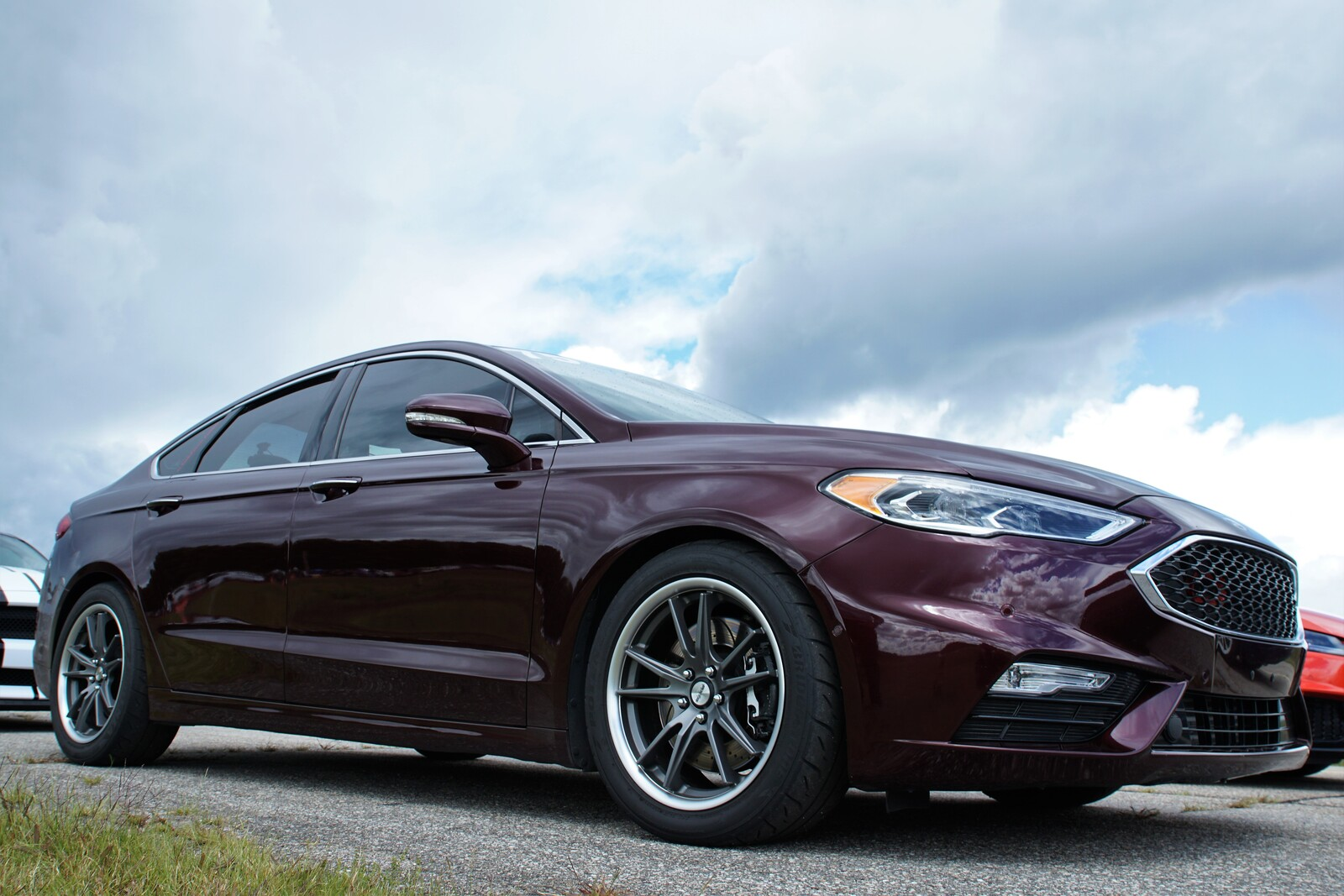 2017 Burgundy Velvet Ford Fusion Sport picture, mods, upgrades