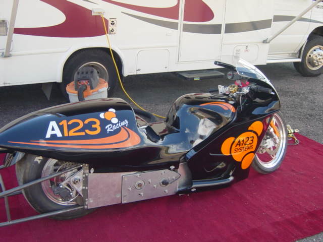 Electric Car 2006 Dragster Motorcycle Killacycle Electric