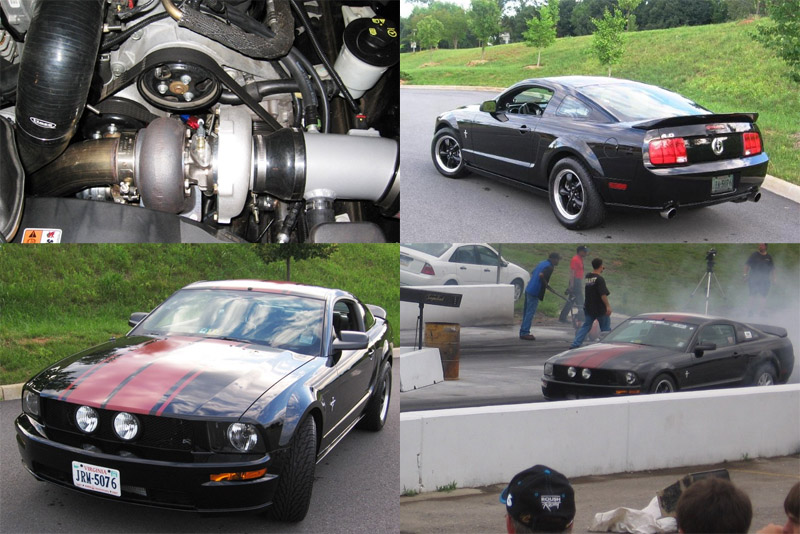 2005 Ford Mustang 4.0 V6 Turbo