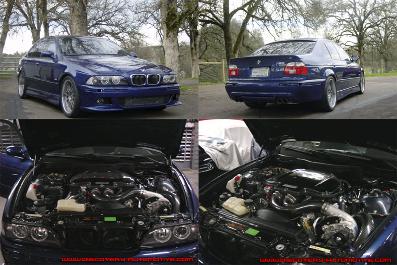 2001 BMW M5 Supercharger